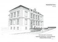 Rekonstrukce školy - vizualizace